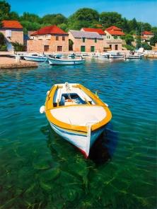 Safe Haven, oil on canvas, 70x50 cm